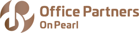 brown office partners on pearl logo
