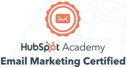 HubSpot Academy Email Marketing Certified Badge